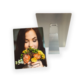 5x7 Metal Print with Easel (Silver Base)