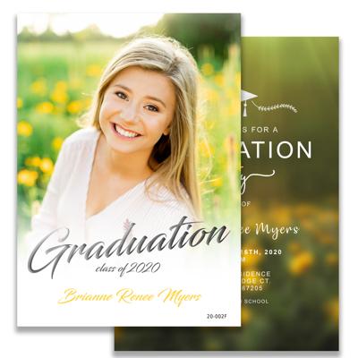 Graduation Announcement (20-002)