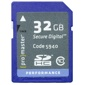 ProMaster-32GB Performance SDHC #5940-Memory cards, tape and discs