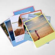4x5 Retro Print Color Patterns - Set of 8