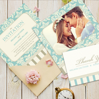 Greeting Cards on Photographic Paper