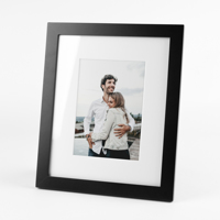 8x10 Black Tabletop Frame w/ Print