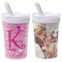 8 oz. Kids Tumbler With Straw
