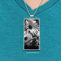 "1""x2"" Photo Pendant w/ Necklace"