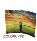 10 x 8 Curved Acrylic Horizontal