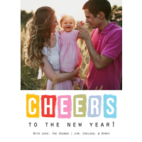 Color Blocks: 10pk New Year Cards