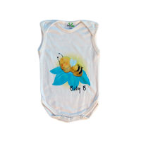 Baby Grow - Sleeveless - 0-3 Months