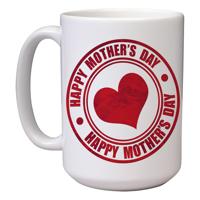 15 oz Ceramic Mom Mug (I)