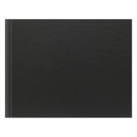 9x12 Classic Style Black Leather