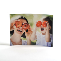 5x7 Curved Acrylic Photo Panel (Horizontal)