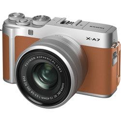 Fujifilm-X-A7 Mirrorless Camera with XC 15-45mm F3.5-5.6 OIS PZ Lens-Digital Cameras
