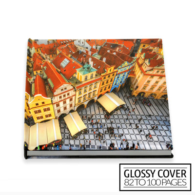 10x10 Classic Image Wrap Hard Cover / Glossy Cover (82-100 pages)