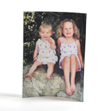 5x7 Curved Acrylic Photo Panel (Vertical)