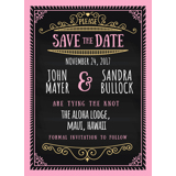 Chalkboard - Save the Date 5x7