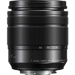 Panasonic-Lumix G Vario 12-60mm F3.5-5.6 ASPH. Power O.I.S.-Lenses - SLR & Compact System
