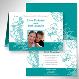 Fresh Floral - Turquoise (duplicate)