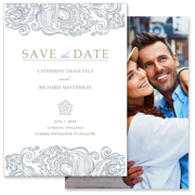 Classy - 2 Sided Save the Date  5x7