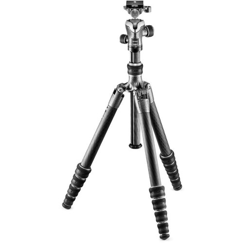 Gitzo-GK1555T-82TQD Traveler Kit Series 1 5 Sections Tripod GT1555T with Head GH1382TQD-Tripods & Monopods