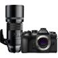 Olympus-OM-D E-M1 Mark II System Camera with M. Zuiko 300mm F4.0 IS PRO Lens-Digital Cameras