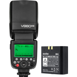 Godox-Ving V860IIS TTL Li-Ion Kit for Sony-Flashes and Speedlights