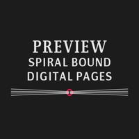 Preview Book (Spiral Bound, Digital Print)