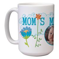 15 oz Ceramic Mom Mug (H)