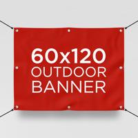 """60"""" x 120"""" Outdoor Banner"""