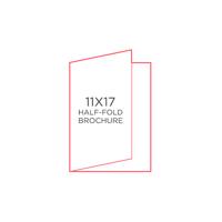 """25pk - 11"""" x 17"""" Brochure"""