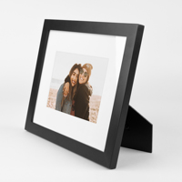 8x10 Black Tabletop Frame w/Print