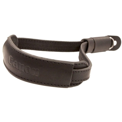 Canon-Deluxe Leather Wrist Strap for G Cameras-Camera Straps & Vests