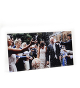 10x30 Gloss White Metal Print