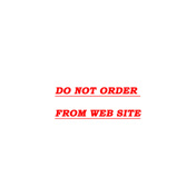 DO NOT ORDER FROM WEB SITE