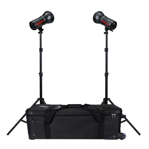 ProMaster-Unplugged L500D LED 2 Light Kit - Daylight-Studio Lighting Kits