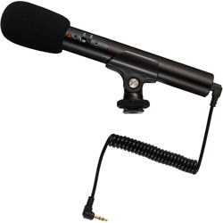 ProMaster-Compact Shotgun Microphone SGM1 #8069-Microphones and Accessories