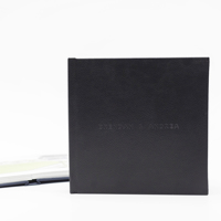 210mm x 210mm Premium Leather Layflat Photobook