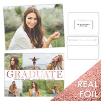 Graceful Grad<br>5x7 Foil<br>Envelope