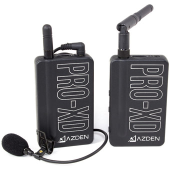 Azden-Pro-XD WIreless Microphone Kit-Microphones and Accessories