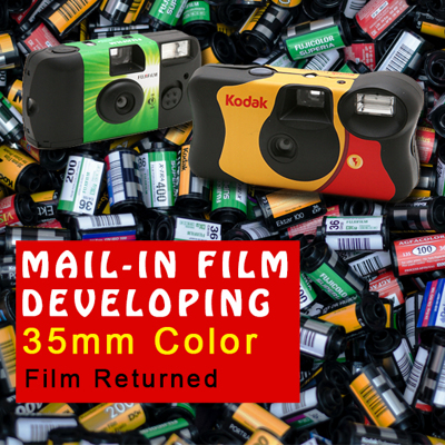 Film Developing - 35mm Color C-41 Process