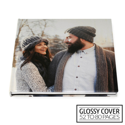 12x12 Classic Image Wrap Hard Cover / Glossy Cover (52-80 pages)