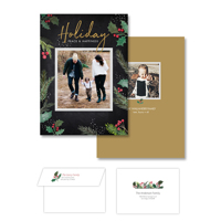 Holiday Bliss<br>5x7 Double Sided<br>Envelope