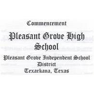 Pleasant Grove 2017 Graduation