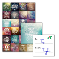 24 Gift Tags