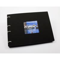 A5 Classic Plus Photo Book - Black