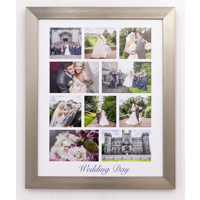 Framed Collage Prints with text
