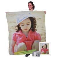"50""x60"" Fleece Photo Blanket (Vertical)"