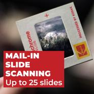 Slide Scanning - Up to 25 Slides
