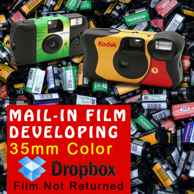 Film Developing - 35mm Color - Dropbox