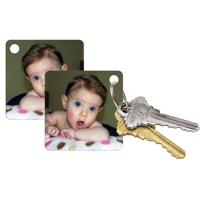 Porte-clés (2 Faces) Image Miroir