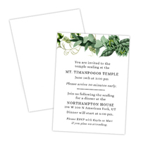 Fresh Vines<br>2.5x3.5 Insert<br>Double Sided
