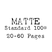 8.5 x 11 Hard Cover Photobook / Standard 100# (20-60 Pages)